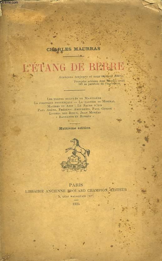 L'Etang de Berre.
