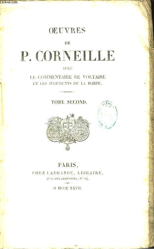 Oeuvres de P. Corneille. TOME 2nd