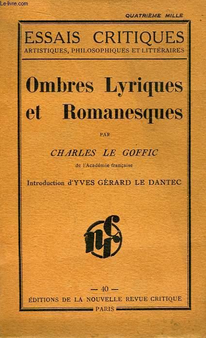 Ombres Lyriques et Romanesques.