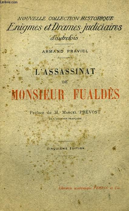 L'Assassinat de Monsieur Fualdès