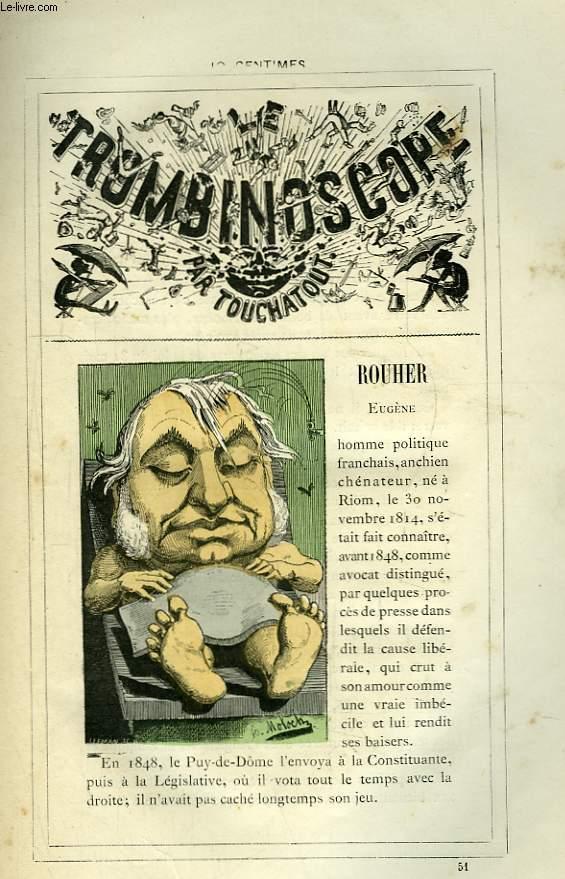 Le Trombinoscope N°51 : Eugène Rouher.