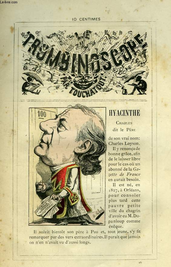 Le Trombinoscope N°46 : Charles dit le Père Hyacinthe.