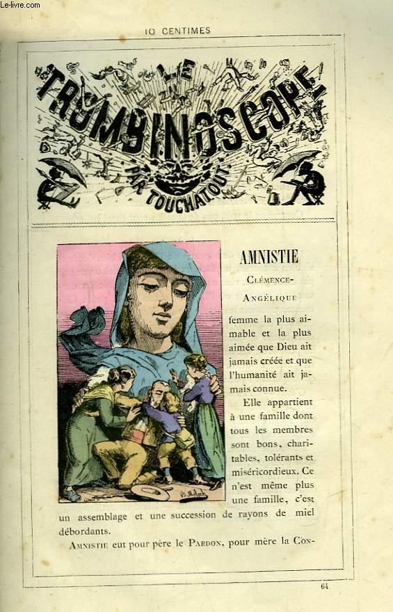 Le Trombinoscope N°64 : Clémence-Angélique Amnistie.