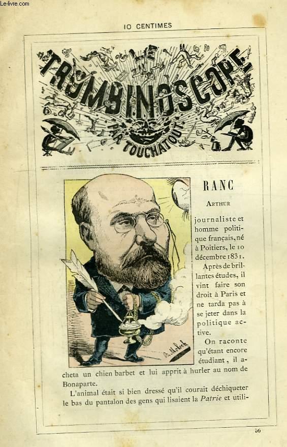 Le Trombinoscope N°56 : Arthur Ranc