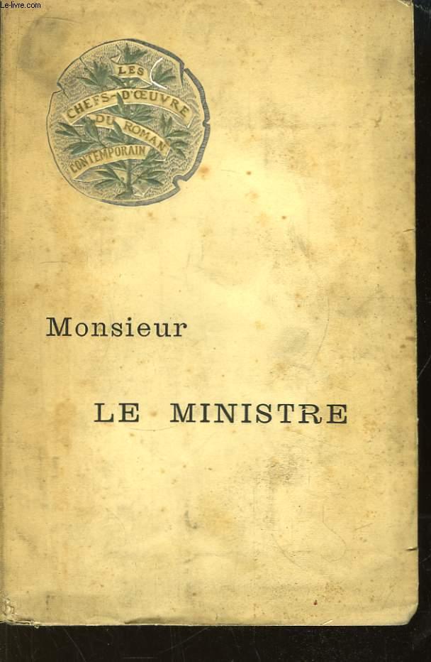 Monsieur le Ministre