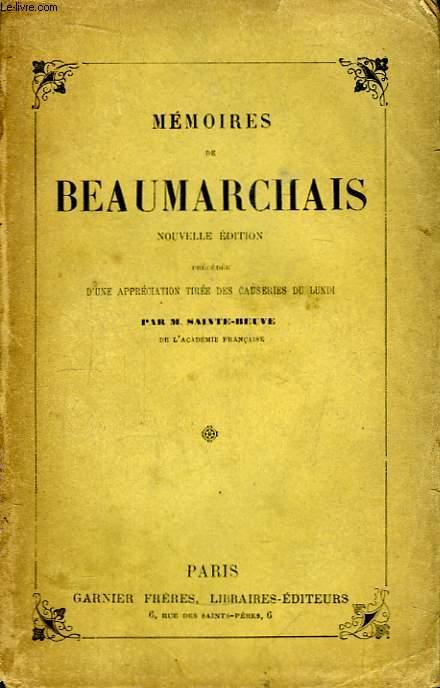 Mémoires de Beaumarchais dans l'Affaire Goezman.