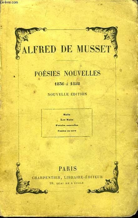 Poésies nouvelles, 1836 à 1852