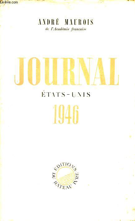 Journal. Etat-Unis 1946