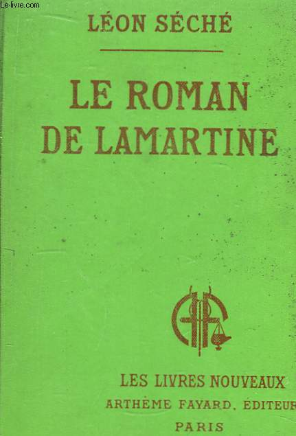 Le roman de Lamartine.