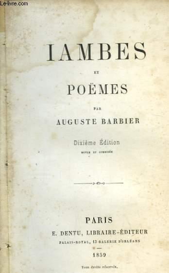 Iambes et Poèmes