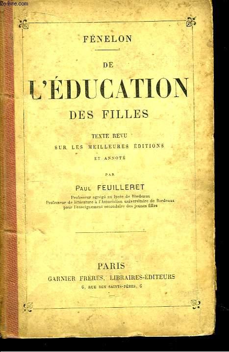 De l'Education des Filles.