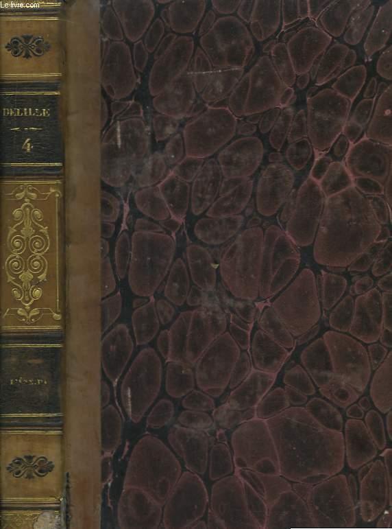 Oeuvres de Delille. TOME IV : L'Enéide, 3ème partie.