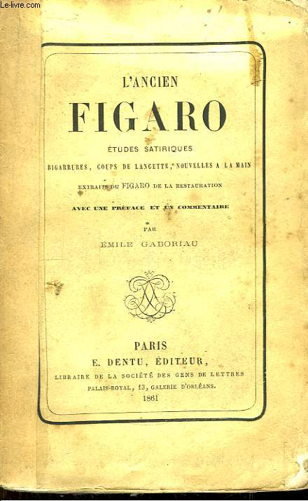 L'Ancien Figaro.