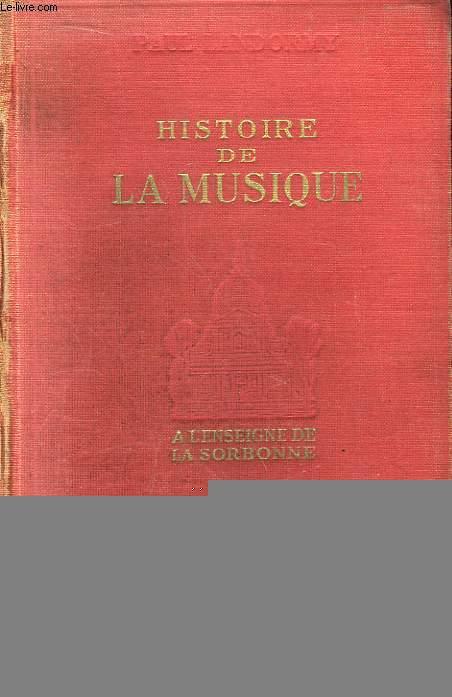 Histoire de la Musique.