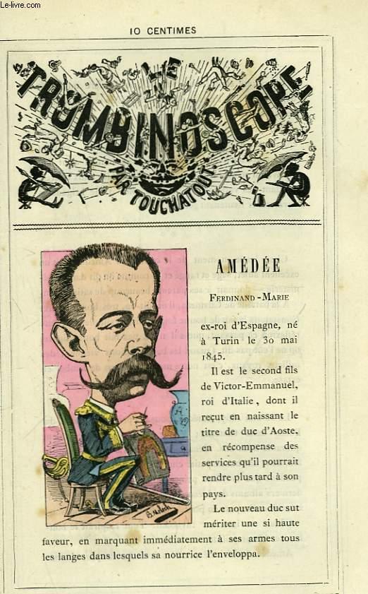 Le Trombinoscope N°98 : Amédée Ferdinand-Marie