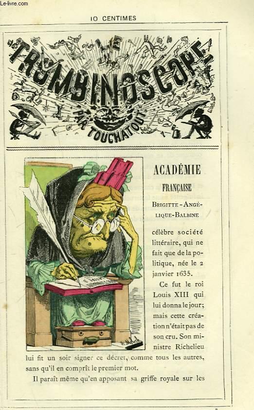 Le Trombinoscope N°97 : Académie Française. Brigitte-Angélique-Balbine.