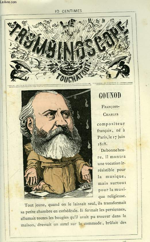 Le Trombinoscope N°96 : François-Charles Gounod.
