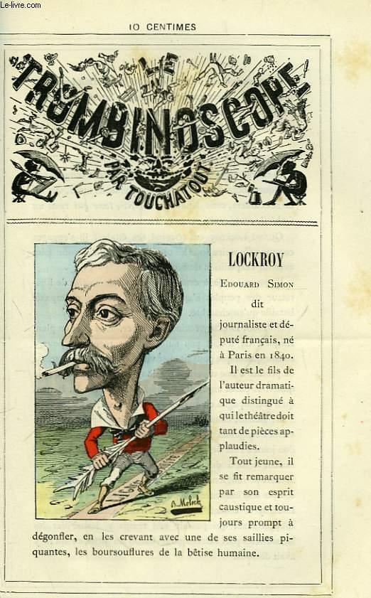 Le Trombinoscope N°95 : Edouard Simon dit Lockroy