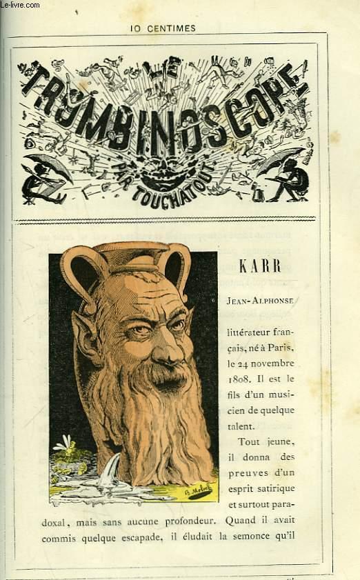 Le Trombinoscope N°94 : Jean-Alphonse Karr