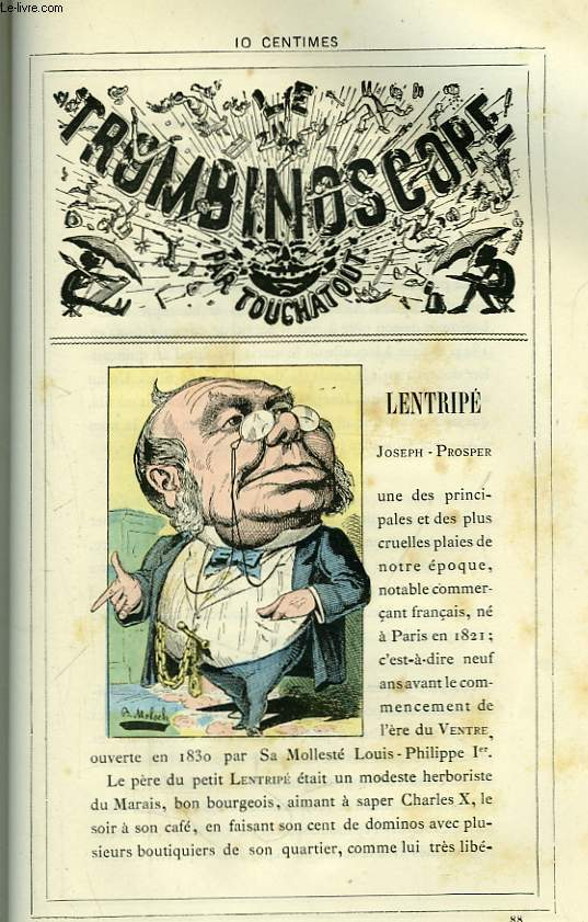 Le Trombinoscope N°88 : Joseph-Prosper Lentripé.