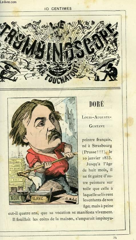 Le Trombinoscope N°84 : Louis-Auguste-Gustave Doré.