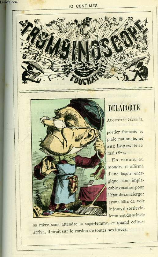 Le Trombinoscope N°80 : Augustin-Gabriel Delaporte.