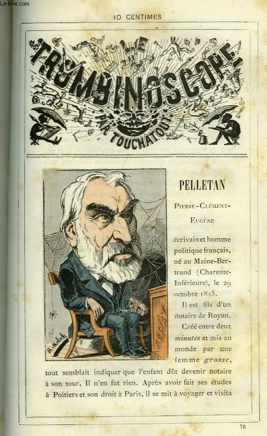 Le Trombinoscope N°78 : Pierre-Clément-Eugène