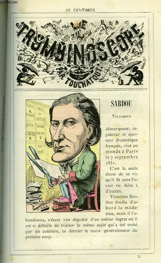 Le Trombinoscope N°76 : Victorien Sardou.