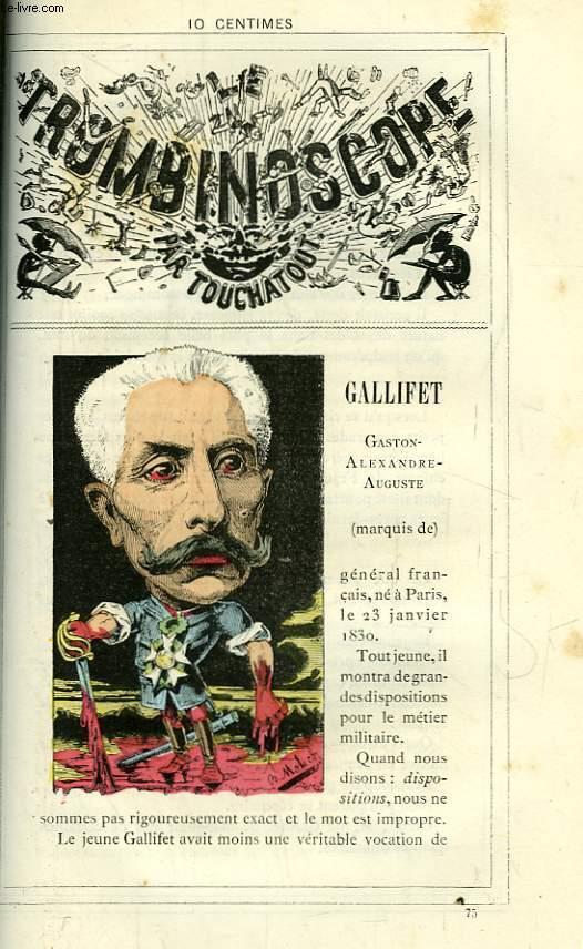 Le Trombinoscope N°75 : Gallifet