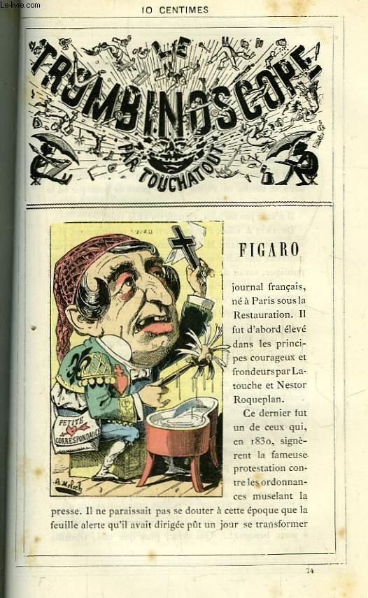 Le Trombinoscope N°74 : Figaro