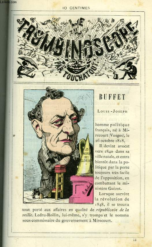Le Trombinoscope N°73 : Louis-Joseph Buffet