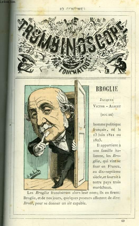Le Trombinoscope N°69 : Jacques Victor-Albert, Duc de Broglie.