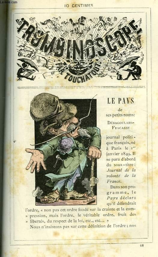 Le Trombinoscope N°68 : Le Pays de ses petits noms : Débagoulard-Fracasse.
