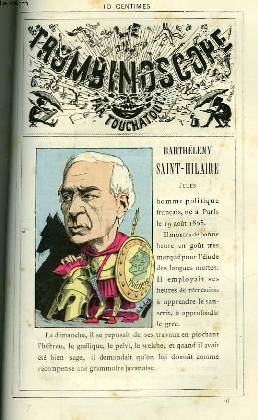 Le Trombinoscope N°67 : Jules Barthélémy Saint-Hilaire.