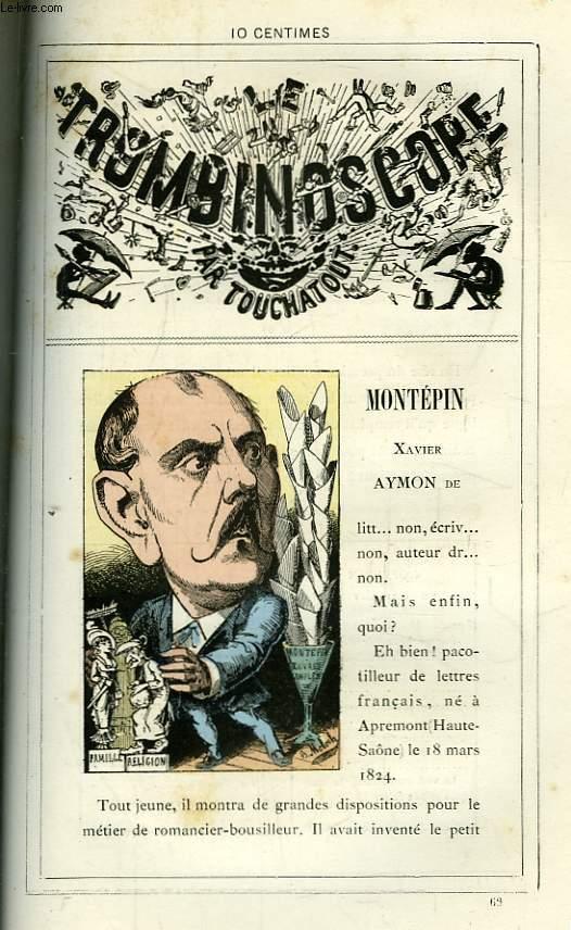 Le Trombinoscope N°66 : Xavier Aymon de Montépin.