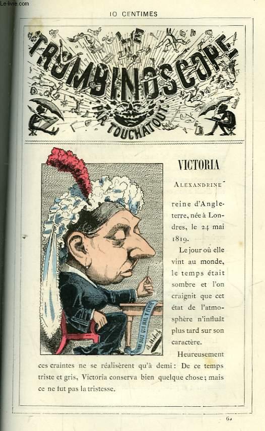 Le Trombinoscope N°65 : Alexandrine Victoria