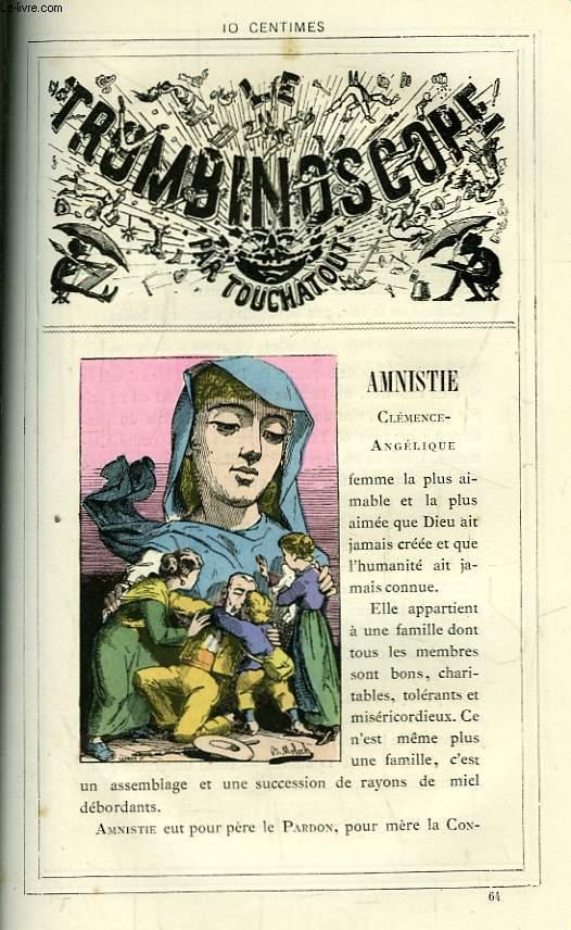 Le Trombinoscope N°64 : Clémence-Angélique Amnistie