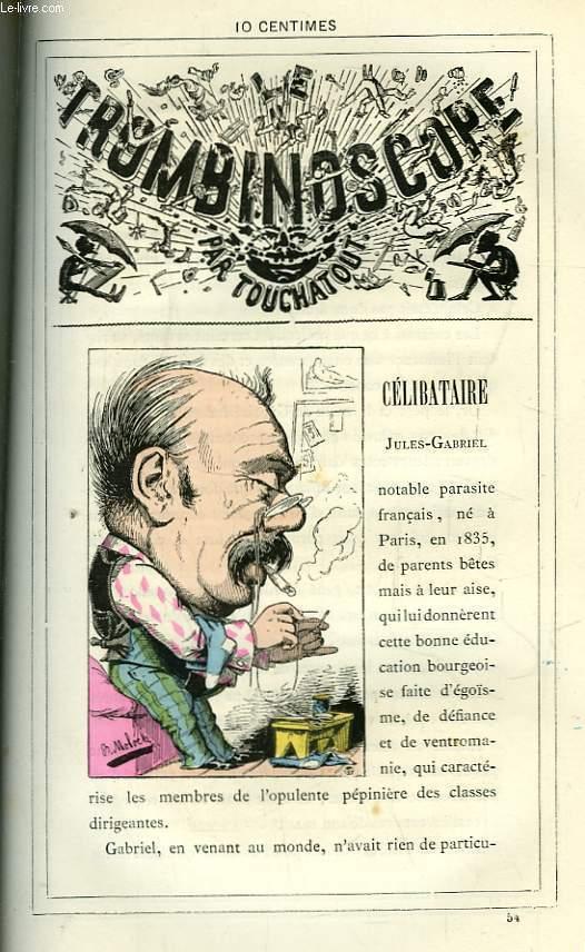 Le Trombinoscope N°54 : Jules-Gabriel Célibataire.