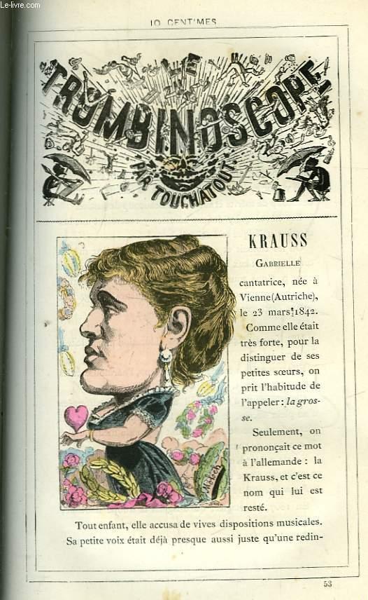 Le Trombinoscope N°53 : Gabrielle Krauss