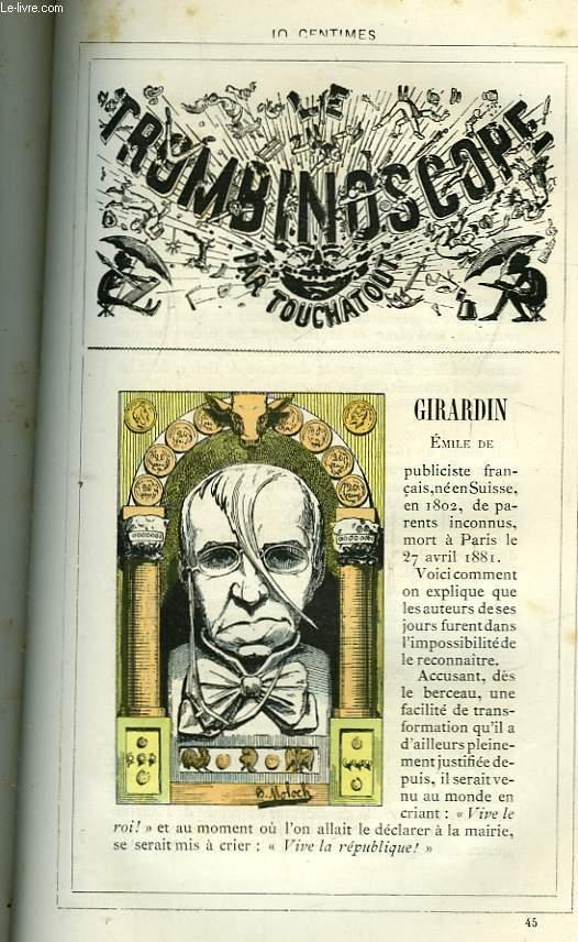 Le Trombinoscope N°45 : Emile de Girardin