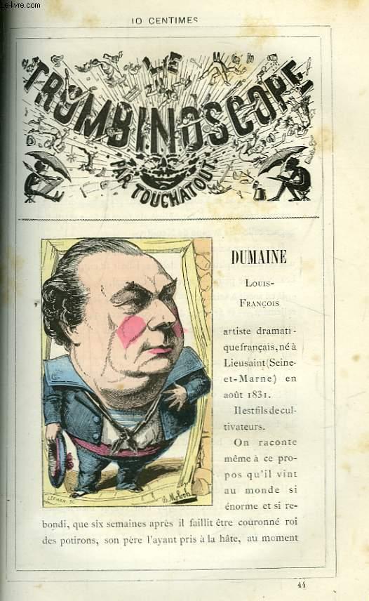 Le Trombinoscope N°44 : Louis-François Dumaine