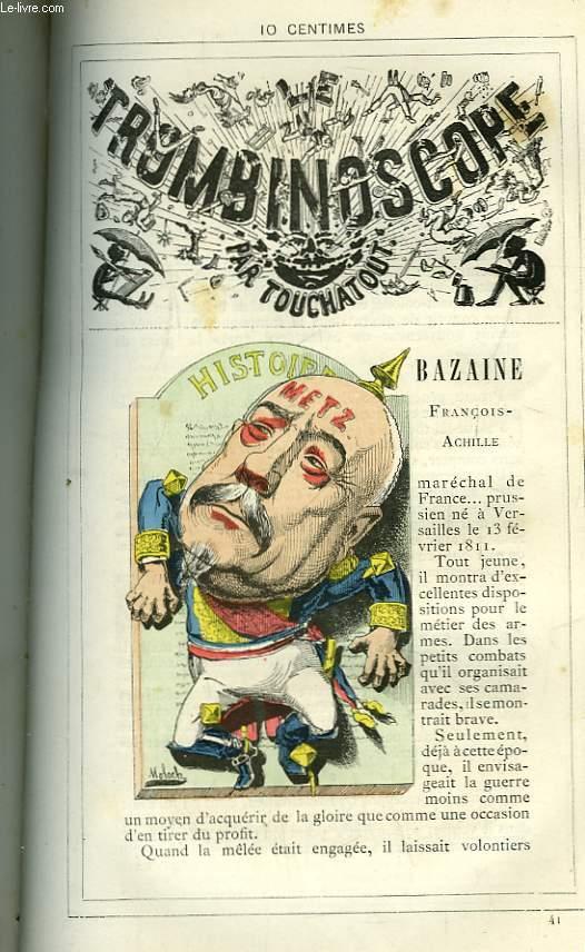 Le Trombinoscope N°41 : Françaois-Achille Bazaine.