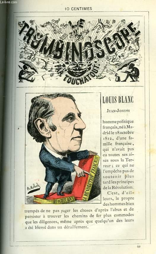 Le Trombinoscope N°40 : Jean-Joseph Louis-Blanc