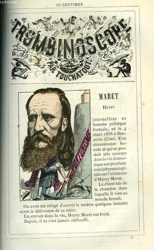 Le Trombinoscope N°37 : Henry Maret