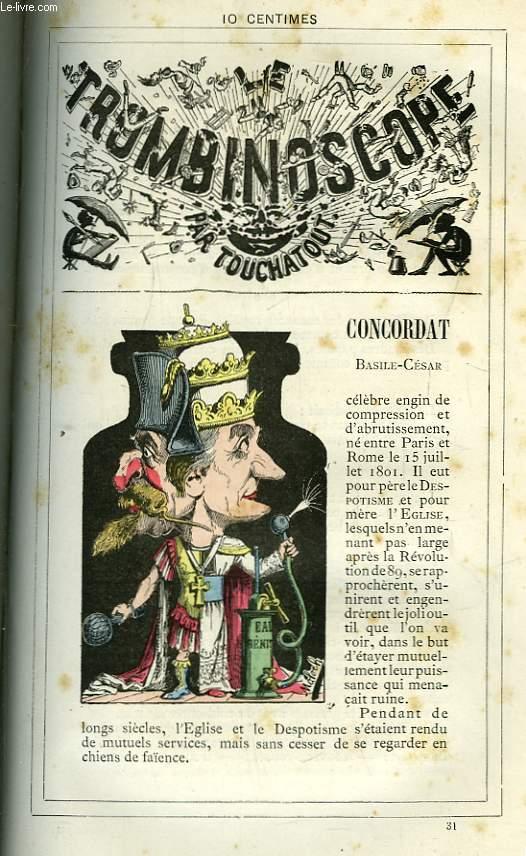 Le Trombinoscope N°31 : Basile-César Concordat.