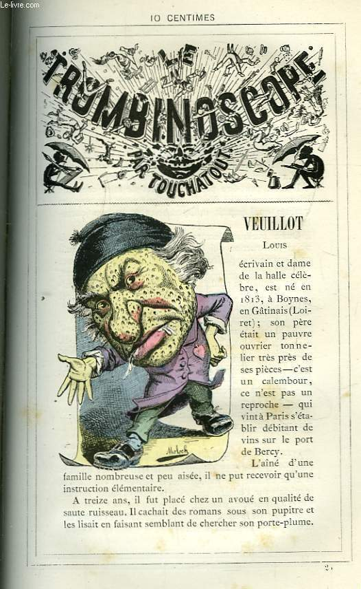 Le Trombinoscope N°25 : Louis Veuillot.