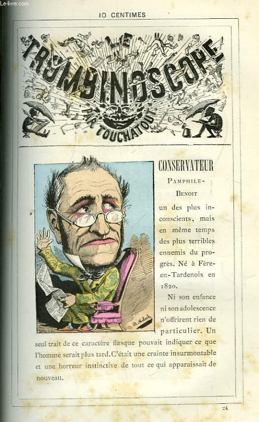 Le Trombinoscope N°24 : Pamphile-Benoit Conservateur.