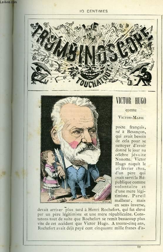Le Trombinoscope N°10 : Comte Victor-Marie, Victor Hugo