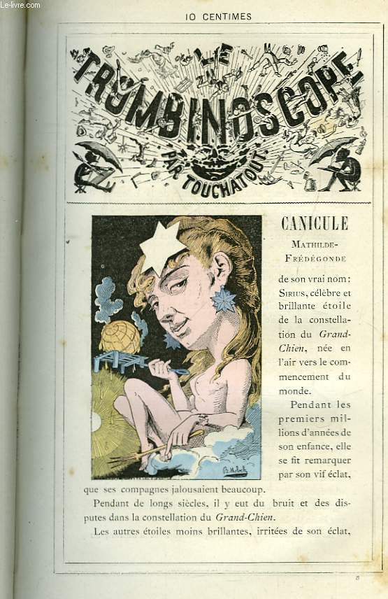 Le Trombinoscope N°8 : Mathilde-Frédégonde Canicule