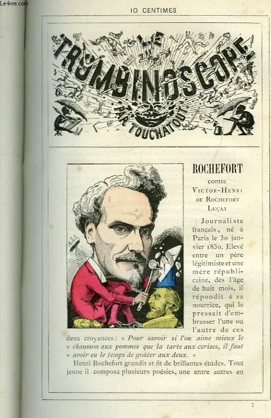 Le Trombinoscope N°7 : Comte Victor-Henri de Rochefort Luçay Rochefort.